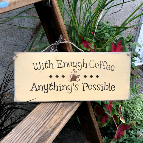 coffee saying