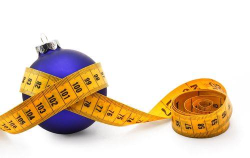 tape measure around ornament