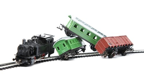 toy trains off track