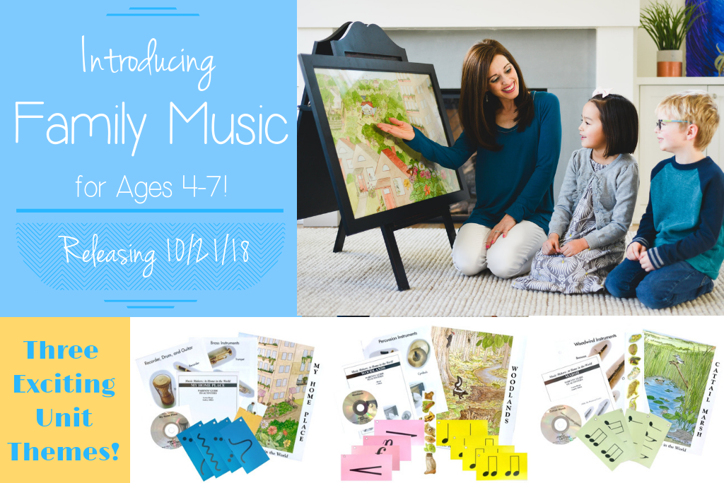 Introducing Family Music for Ages 4-7!