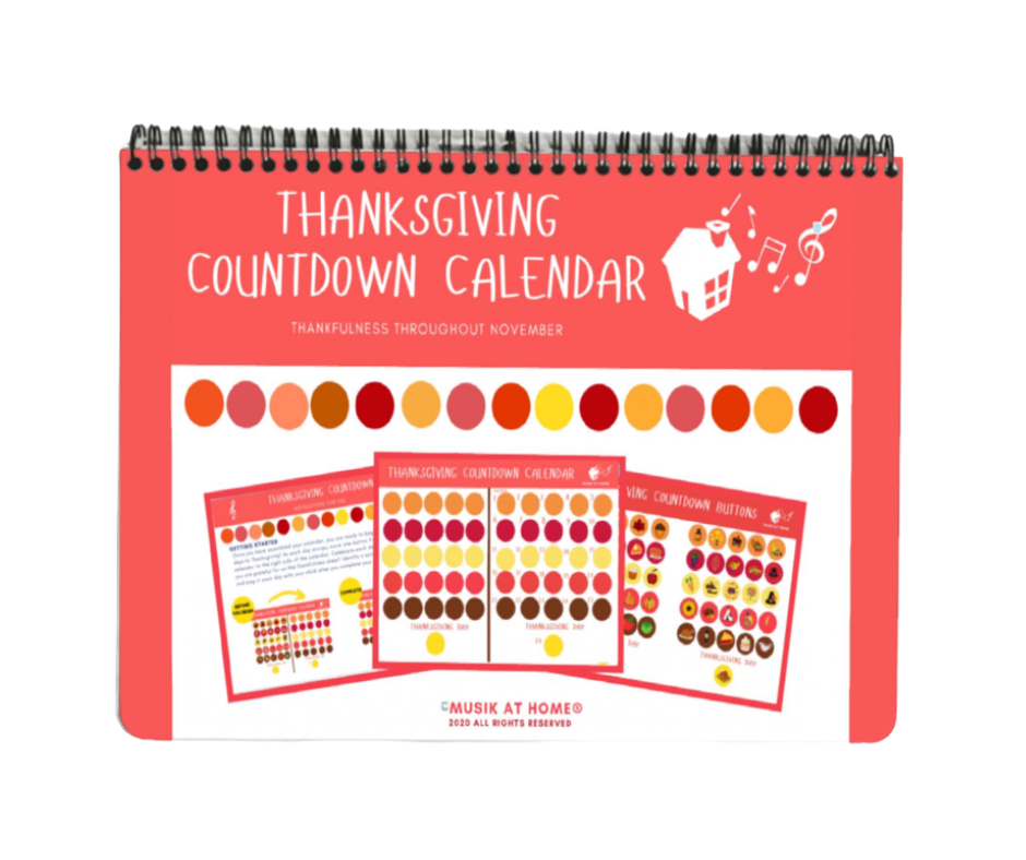 Thanksgiving Countdown Calendar