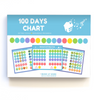 Set Goals: 100 Days Chart