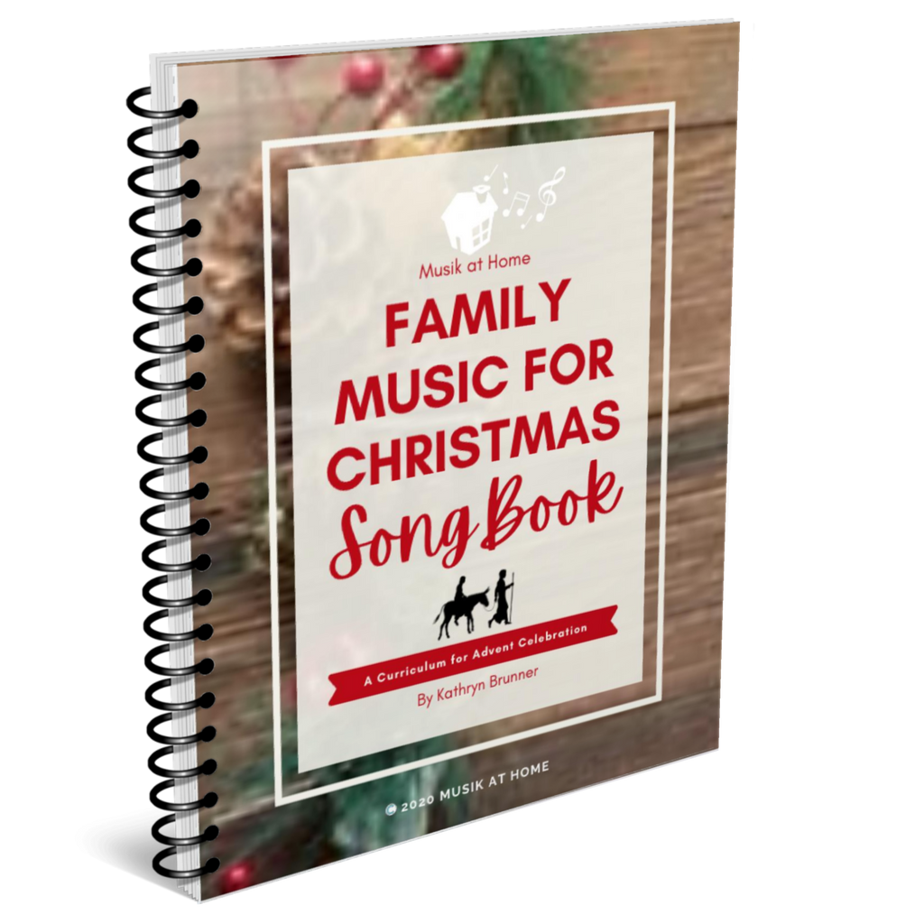 Family Music for Christmas Song Book, Individual Family License