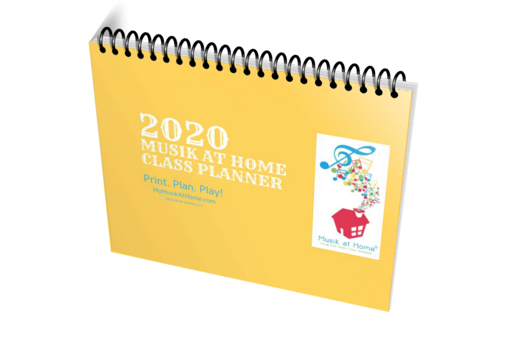 Musik at Home Class Planner