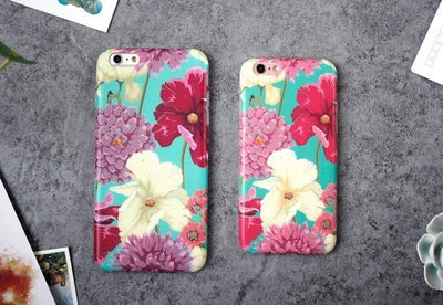 MINZ Floral Retro - iPhone Case - Minz - 2