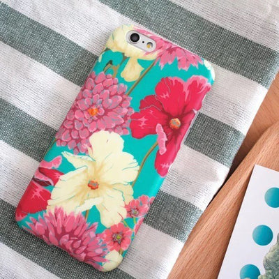 MINZ Floral Retro - iPhone Case - Minz - 3