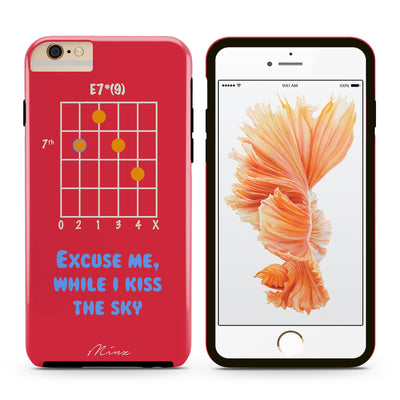 Hendrix Chord - iPhone Case - Minz - 2