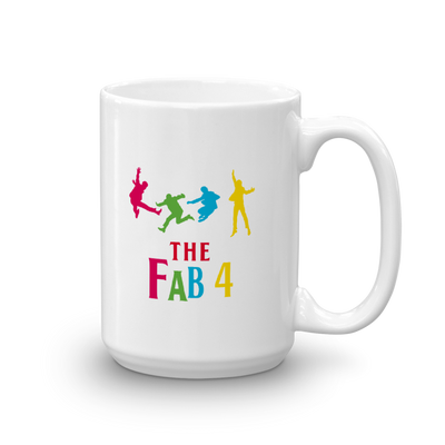 Fab 4 The Beatles Mug (made in the USA)-MINZ-MINZ