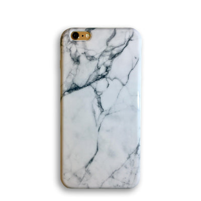 White Marble - iPhone Case, iPhone 6/6s, Phone Case, MINZ