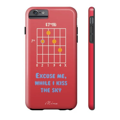 Hendrix Chord - iPhone Case - Minz - 5