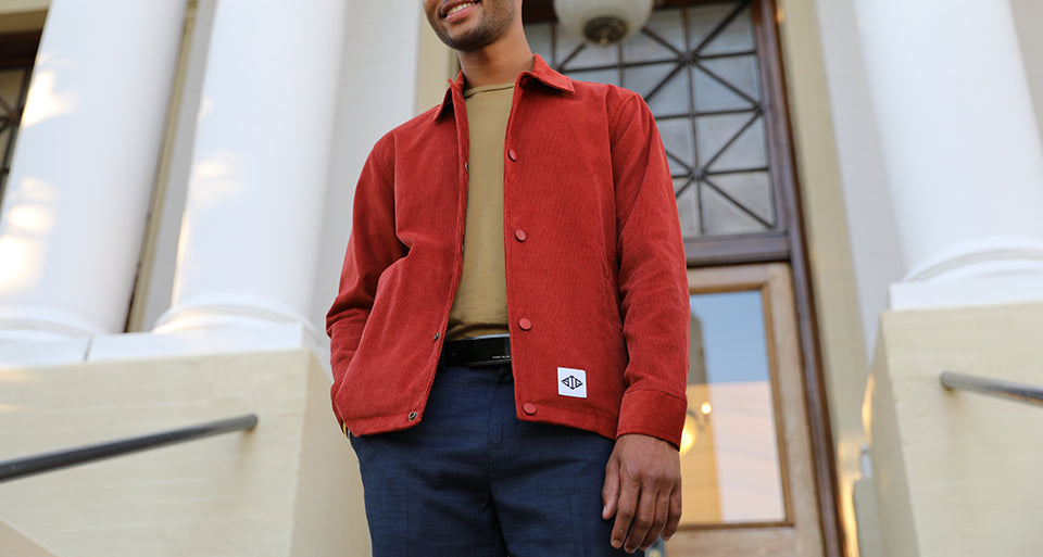 The Style of San Francisco in a Corduroy Jacket for Road Trips and More