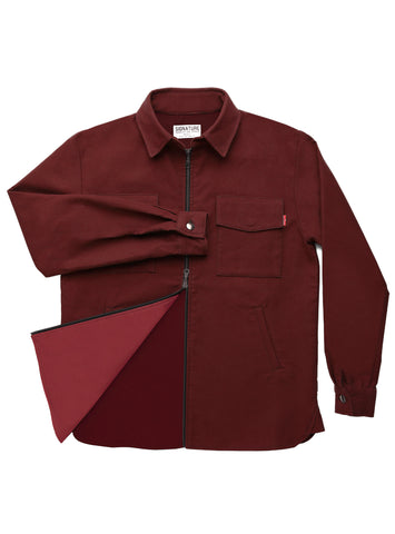 mens shirt jacket