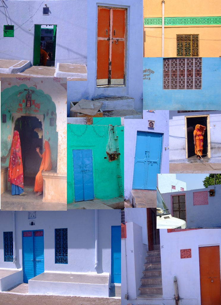 Colorful Houses of Jaipur