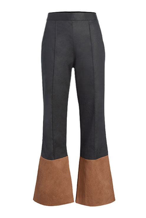 Two-Tone Flare Pant - 2