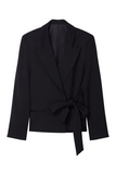 Tuxedo Jacket With Side Tie