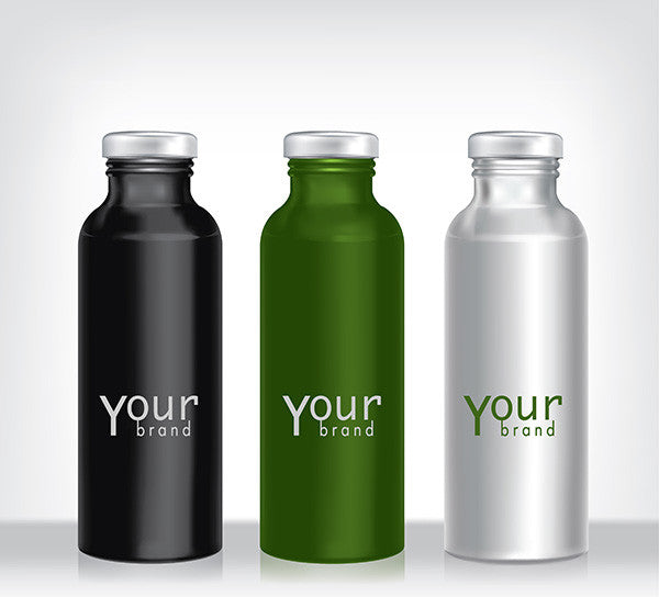 Stainless Steel or Aluminum? Choose Your Custom Metal Water Bottle