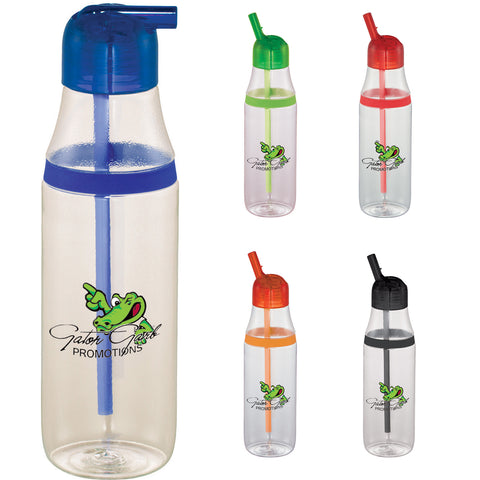 Custom Water bottle in red, orange, lime, green, blue, black. custom cruise tritan sports bottle 20 oz. Custom sports water bottle.