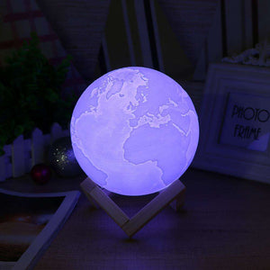 Earth Lamp w/ 16 Color Change