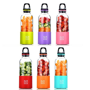 Portable Blender USB Rechargeable Bottle