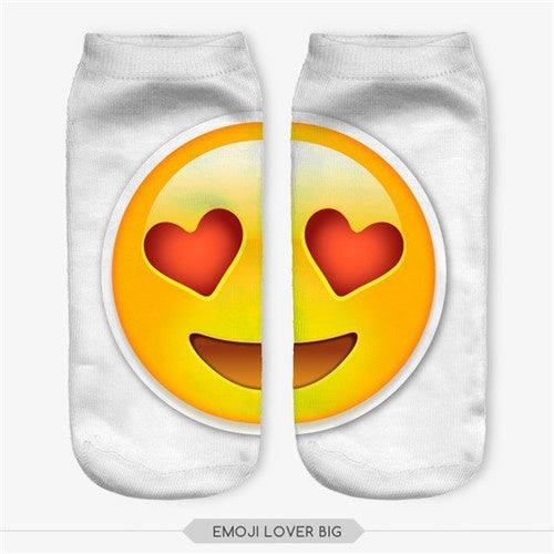 Emoji Lover Big Socks