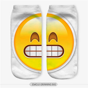 Emoji Grinning Big Socks