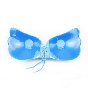 Blue - Strapless Push Up Adhesive LilyBra