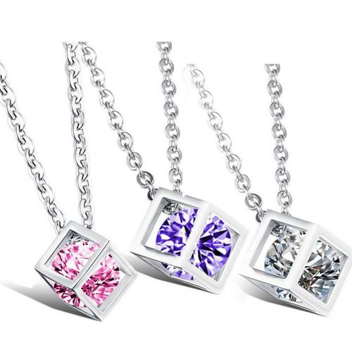 Magic Cube Necklace