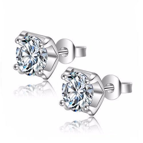 Four Claw Zircon Earrings
