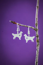 Handmade Golden Retriever Stud Earrings