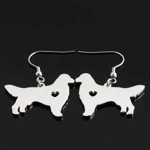 Handmade Golden Retriever Earrings for Women