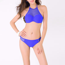 Blue Two Piece Swimsuit