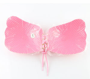 Pink - Strapless Push Up Adhesive LilyBra