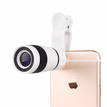 8x Zoom Optical Telescope Portable Phone Camera (Works with Android/iPhone)