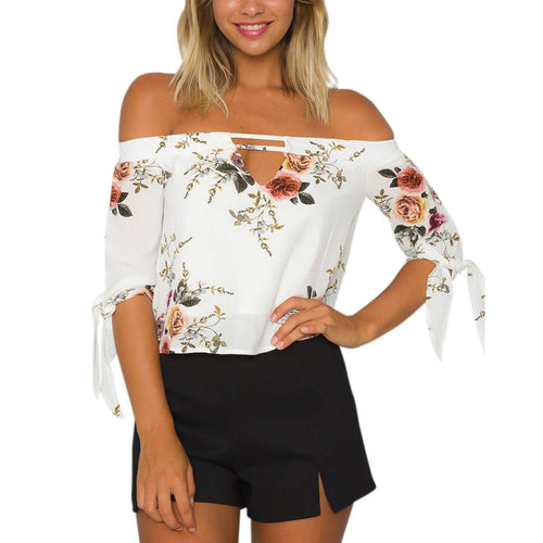 Off Shoulder Summer Top