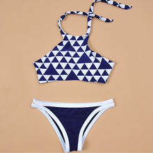Geometric Two Piece Swimsuit