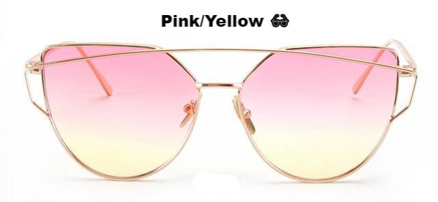 Lara Beach Fade Cat Eye Shades (3 Colors)