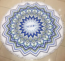 RESEXY - Round Beach Towel With Tassels