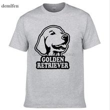 Golden Retriever Dog Print T-Shirt