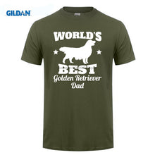 World's Best Golden Retriever Dad T-Shirt
