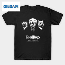 """GoodDogs"" Funny T-Shirt GILDAN"