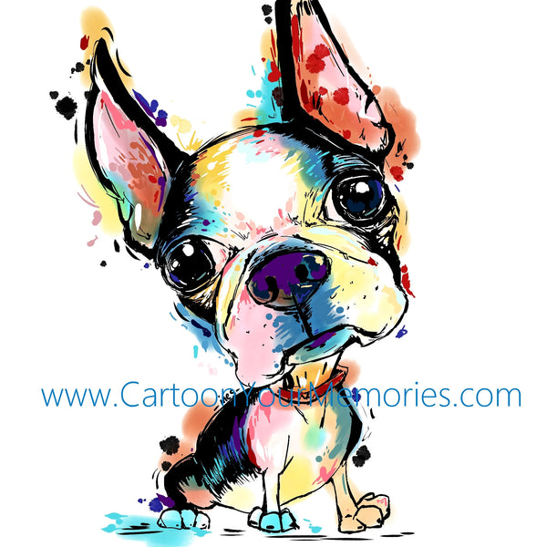Copy of Boston Terrier love