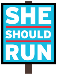 She Should Run Logo
