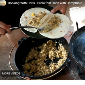 Cooking With Chris - Breakfast Hash with Campmaid