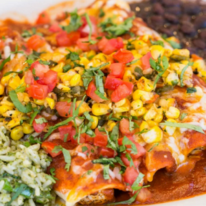 Day of the Dead Chicken Enchiladas