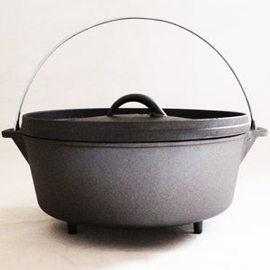 "8"" Pre-Seasoned 2 Quart Dutch Oven"