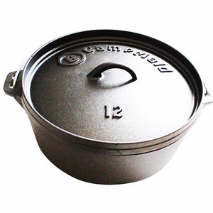 "12"" Pre-Seasoned 7 Quart Dutch Oven"