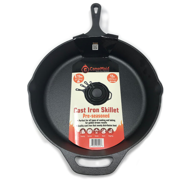 "10"" Pre-Seasoned Cast Iron Skillet"