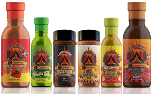 Hot Sauces, Marinades, & Seasoning Rubs by CampMaid