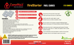 4- Boxes Of Fire Starter Fuel Cubes