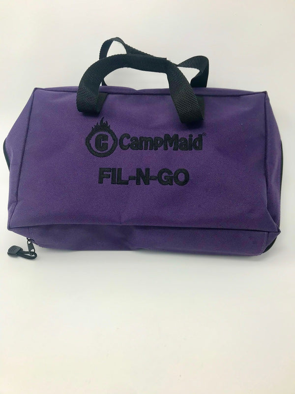 Fil-n-Go Camp Caddy Bag - Plum (Bag Only)